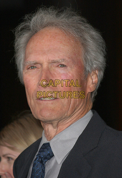 "CLINT EASTWOOD.Warner Home Video Celebrates the ""Dirty Harry"" film franchise with a special screening and reception held at the Directors Guild of America,.Hollywood, California, USA,.29 May 2008..portrait headshot tie grey gray shirt.CAP/ADM/`CH.©Charles Harris/Admedia/Capital PIctures"