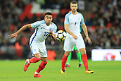 5th October 2017, Wembley Stadium, London, England; FIFA World Cup Qualification, England versus Slovenia; Jesse Lingard of England