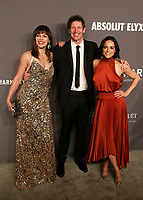 06 February 2019 - New York, NY - Milla Jovovich, Paul W. S. Anderson, Michelle Rodriguez. 21st Annual amfAR Gala New York benefit for AIDS research during New York Fashion Week held at Cipriani Wall Street.  <br /> CAP/ADM/DW<br /> &copy;DW/ADM/Capital Pictures