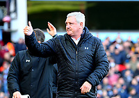 Aston Villa Manager Steve Bruce<br /> <br /> Photographer Leila Coker/CameraSport<br /> <br /> The EFL Sky Bet Championship - Aston Villa v Birmingham City - Sunday 11th February 2018 - Villa Park - Birmingham<br /> <br /> World Copyright &copy; 2018 CameraSport. All rights reserved. 43 Linden Ave. Countesthorpe. Leicester. England. LE8 5PG - Tel: +44 (0) 116 277 4147 - admin@camerasport.com - www.camerasport.com