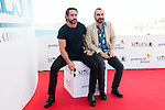"Ola Rapace and the director of the film Jean-Patrick Benes pose to the media during the presentation of the film ""Ares"" at Festival de Cine Fantastico de Sitges in Barcelona. October 11, Spain. 2016. (ALTERPHOTOS/BorjaB.Hojas)"