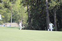 Satoshi Kodaire (USA) on the 13th during the 1st round at the The Masters , Augusta National, Augusta, Georgia, USA. 11/04/2019.<br /> Picture Fran Caffrey / Golffile.ie<br /> <br /> All photo usage must carry mandatory copyright credit (&copy; Golffile | Fran Caffrey)