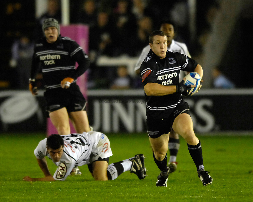 Photo: Jed Wee..Newcastle Falcons v Petrarca Padova. European Challenge Cup. 20/10/2006...Newcastle's John Rudd.