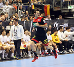 10.01.2019, Mercedes Benz Arena, Berlin, GER, Handball WM 2019, Deutschland vs. Korea, im Bild <br /> Uwe Gensheimer (GER #3)<br /> <br />      <br /> Foto © nordphoto / Engler