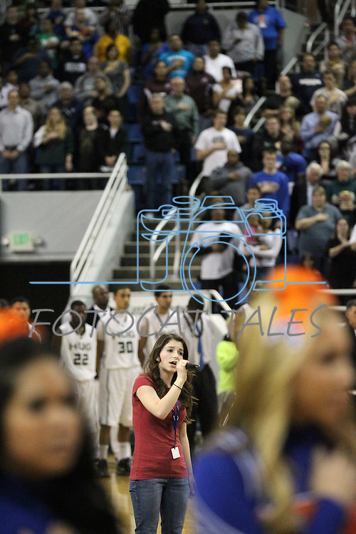 Images from the NIAA 4A State Basketball Championship game between Bishop Gorman and Hug high schools at Lawlor Events Center, in Reno, Nev, on Friday, Feb. 24, 2012. .Photo by Cathleen Allison