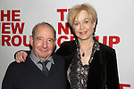 Michael Tucker and Jill Eikenberry attend the opening night party for the New Group Production of Wallace Shawn's  'Evening at the Talk House' at Green Fig Urban Eatery on February 16, 2017 in New York City.