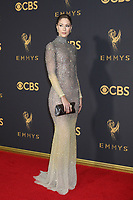 LOS ANGELES - SEP 17:  Amanda Crew at the 69th Primetime Emmy Awards - Arrivals at the Microsoft Theater on September 17, 2017 in Los Angeles, CA