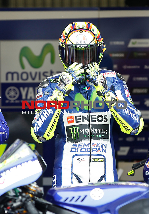 Monster Energy Grand Prix de France in Le Mans 15.-17.05.2015, Free Practice, Qualifying, Box.<br /> <br /> 46 Valentino Rossi / Italien<br /> <br /> Foto &copy; nordphoto / FSA