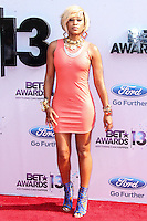 LOS ANGELES, CA - JUNE 30: Eve attends the 2013 BET Awards at Nokia Theatre L.A. Live on June 30, 2013 in Los Angeles, California. (Photo by Celebrity Monitor)