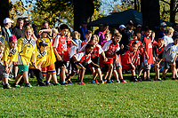 Hundreds of highly spirited elementary school kids converged at Canatara Park for the annual cross country meet.