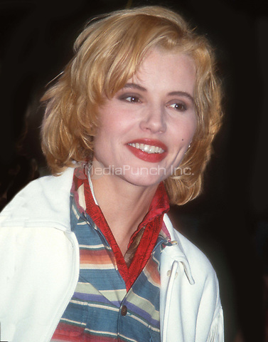 #GeenaDavis 1991<br /> Photo By John Barrett/PHOTOlink.net / MediaPunch
