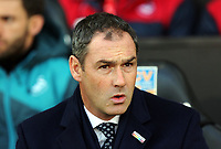 Swansea manager Paul Clement during the Premier League match between Swansea City and Bournemouth at The Liberty Stadium, Swansea, Wales, UK. Saturday 25 November 2017