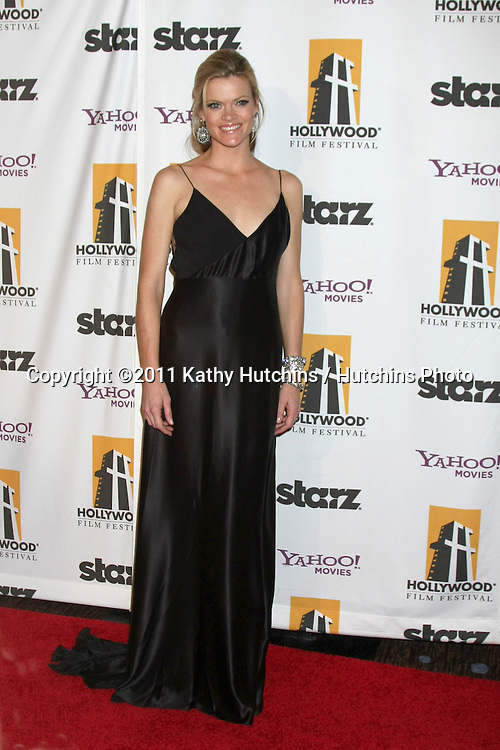 LOS ANGELES - OCT 24:  Missy Pyle arriving at the 15th Annual Hollywood Film Awards Gala at Beverly Hilton Hotel on October 24, 2011 in Beverly Hllls, CA