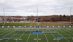EASTON, MA - NOVEMBER 20:  Teams line up before the game between Shippensburg University and LIU Post in the NCAA Division II Field Hockey Championship at WB Mason Stadium on November 20, 2016 in Easton, Massachusetts.  Shippensburg University defeated LIU Post 2-1 for the national title. (Photo by Winslow Townson/NCAA Photos via Getty Images)