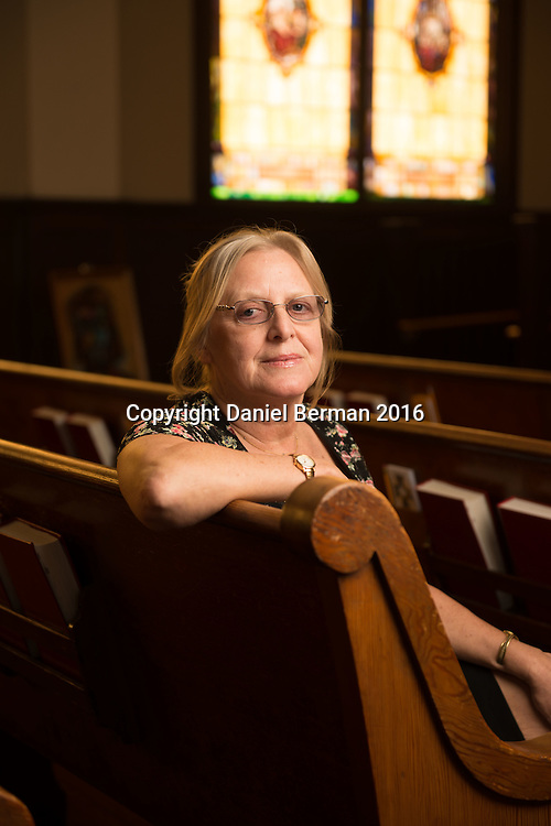 Immanuel Community Services Executive Director Patty Turnberg. The church has been located in South Lake Union since 1890.  Photo by Daniel Berman for Discover South Lake Union