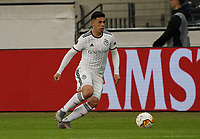 Samuele Campo (FC Basel) - 12.03.2020: Eintracht Frankfurt vs. FC Basel, UEFA Europa League, Achtelfinale, Commerzbank Arena<br /> DISCLAIMER: DFL regulations prohibit any use of photographs as image sequences and/or quasi-video.