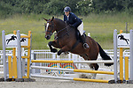Class 8. Unaffiliated Showjumping. Brook Farm Training Centre. Essex. 10/06/2018. ~ MANDATORY Credit Garry Bowden/Sportinpictures - NO UNAUTHORISED USE - 07837 394578