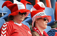 20170803 - BREDA , NETHERLANDS : Illustration shows fans  pictured during the female soccer game between Denmark and Austria  , the semi final at the Women's Euro 2017 , European Championship in The Netherlands 2017 , Thursday 3th of August 2017 at Stadion Rat Verlegh in Breda , The Netherlands PHOTO SPORTPIX.BE | DIRK VUYLSTEKE