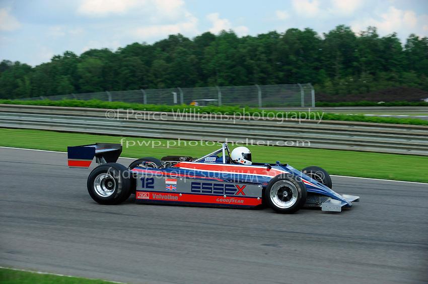Jeff Lewis, #12 (ex-Nigel Mansell, 1980 Lotus 81 Grand Prix Car)