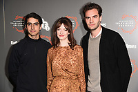 "Viveik Kaira, Dakota Blue Richards and Tom Bateman<br /> at the ""Beecham House"" photocall as part of the BFI & Radio Times Television Festival 2019 at BFI Southbank, London<br /> <br /> ©Ash Knotek  D3494  13/04/2019"