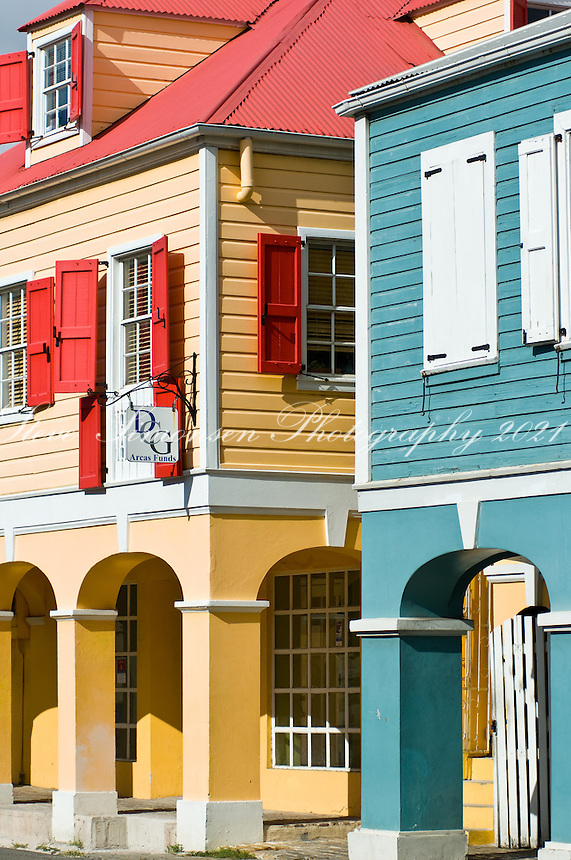 Downtown Christiansted.St. Croix.US Virgin Islands