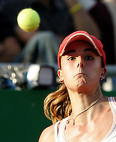 Internazionali d'Italia di tennis a Roma, 14 maggio 2008. Torneo femminile..Italy's Masters tennis women's tournament in Rome, 14 may 2008..France's Alize Cornet..UPDATE IMAGES PRESS/Riccardo De Luca