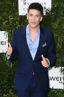 Jahm&eacute;ne Douglas<br /> arrives for the One for the Boys charity fashion event at the V&amp;A Museum, London.<br /> <br /> <br /> &copy;Ash Knotek  D3133  12/06/2016