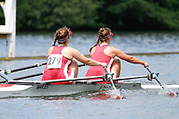 Race: 146 J2x Heat - Marlow RC  vs Warrington RC<br /> <br /> Henley Women's Regatta 2017<br /> <br /> To purchase this photo, or to see pricing information for Prints and Downloads, click the blue 'Add to Cart' button at the top-right of the page.