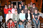 Scouts Quiz: Last Saturday evening Blennerville Scouts Unit held a fundraising quiz in Keanes Bar & Restaurant, Curraheen,.which was well supported. Attending were, front l-r: Eoghan Dillane, Gearoid Dillane and Leanne Quirke. Seated l-r: Beatrice.OSullivan, Liz Furlong, Kay OConnor, Noreen Sugrue and Andrea ODonoghue. Back l-r: Ann Moore, Liz OSullivan, Bernie.Dillane, Grace Conway, Sarah Conway, Paul OSullivan, Trish Fox, Jim Fox, Kevin Furlong and Joan Divane.