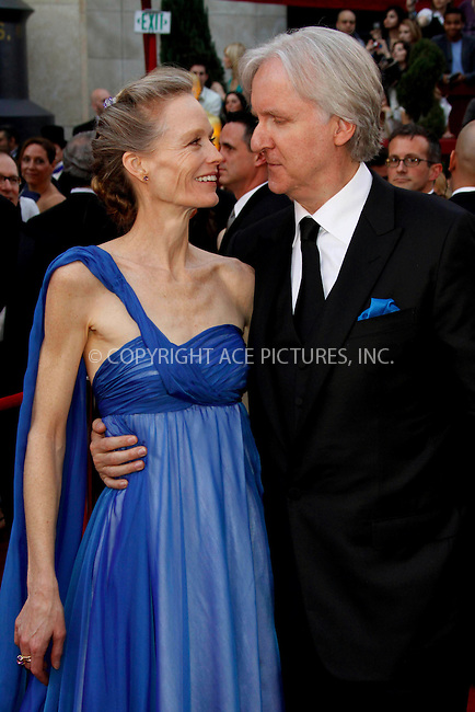 WWW.ACEPIXS.COM . . . . .  ....March 7 2010, Hollywood, CA....James Cameron and wife Suzy Amis at the 82nd Annual Academy Awards held at Kodak Theatre on March 7, 2010 in Hollywood, California.....Please byline: Z10-ACE PICTURES... . . . .  ....Ace Pictures, Inc:  ..Tel: (212) 243-8787..e-mail: info@acepixs.com..web: http://www.acepixs.com
