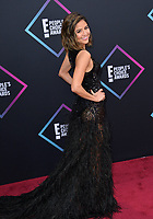 LOS ANGELES, CA. November 11, 2018: Erin Lim at the E! People's Choice Awards 2018 at Barker Hangar, Santa Monica Airport.<br /> Picture: Paul Smith/Featureflash