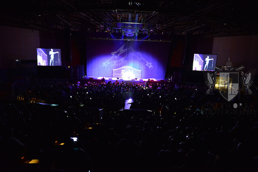 MIAMI, FL - JANUARY 17: General view during Actor / Comedian Katt Williams performs during ' Conspiracy Theory Comedy tour ' at James L Knight Center on Sunday January 17, 2016 in Miami, Florida.  ( Photo by Johnny Louis / jlnphotography.com )