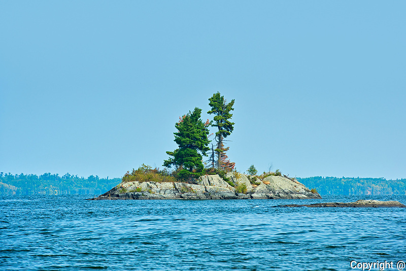 Island on Lake of the Woods<br />