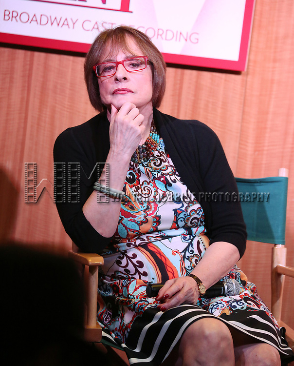 "Patti Lupone discusses her Performances In ""War Paint"" On Broadway with Composer Scott Frankel at Barnes & Noble 86th Street on July 14, 2017 New York City."