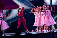Camila Cabello performs in the show of the 2017 MTV Europe Music Awards, EMAs, at SSE Arena, Wembley, in London, Great Britain, on 12 November 2017. Photo: Hubert Boesl <br />
