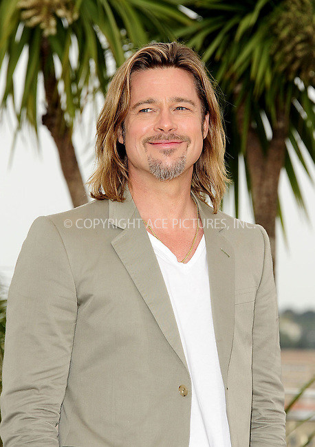 WWW.ACEPIXS.COM . . . . .  ..... . . . . US SALES ONLY . . . . .....May 22 2012, Cannes....Brad Pitt at the photocall for 'Killing Them Softly' at the Cannes Film Festival on May 22 2012 in Cannes, France....Please byline: FAMOUS-ACE PICTURES... . . . .  ....Ace Pictures, Inc:  ..Tel: (212) 243-8787..e-mail: info@acepixs.com..web: http://www.acepixs.com