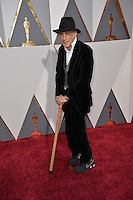 Ed Lachman at the 88th Academy Awards at the Dolby Theatre, Hollywood.<br /> February 28, 2016  Los Angeles, CA<br /> Picture: Paul Smith / Featureflash