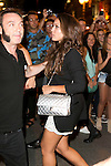 Hiba Abouk attends the party of Nike and Roberto Tisci at the Casino in Madrid, Spain. September 15, 2014. (ALTERPHOTOS/Carlos Dafonte)