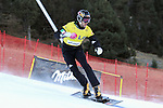 10.03.2012, La Molina, Spain. LG Snowboard FIS Wolrd Cup 2011-2012. Men's parallel giant slalom. Picture show Roland Fischnaller ITA