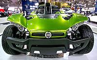 Carro conceito Fiat no Salao do Automovel. SP. Foto de Caetano Barreira.