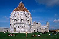 Italien, Toskana, Pisa, Dom und Baptisterium, Unesco-Weltkuturerbe