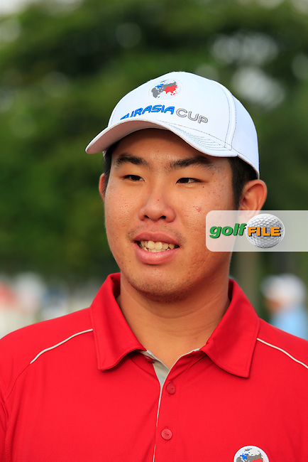 Byeonghun An (KOR) Asian Team during Pro-Am Day of the 2016 Eurasia Cup held at the Glenmarie Golf &amp; Country Club, Kuala Lumpur, Malaysia. 14th January 2016.<br /> Picture: Eoin Clarke | Golffile<br /> <br /> <br /> <br /> All photos usage must carry mandatory copyright credit (&copy; Golffile | Eoin Clarke)