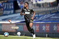 Emeka Obi, Wigan Athletic,  in action during Ipswich Town vs Wigan Athletic, Sky Bet EFL League 1 Football at Portman Road on 13th September 2020