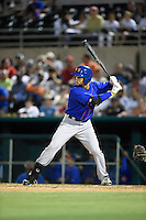 ***Temporary Unedited Reference File***Midland RockHounds designated hitter Viosergy Rosa (34) during a game against the San Antonio Missions on April 22, 2016 at Nelson W. Wolff Municipal Stadium in San Antonio, Texas.  San Antonio defeated Midland 8-4.  (Mike Janes/Four Seam Images)