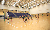 29.10.2015 Silver Ferns in action during the Silver Ferns training ahead of the final test match against the Australian Diamonds in Perth Australia. Mandatory Photo Credit ©Michael Bradley.