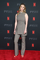 LOS ANGELES, CA - MAY 30: Betty Gilpin at the #NETFLIXFYSEE Glow Event at NETFLIX FYSEE Raleigh Studios in Los Angeles, California on May 30, 2018. <br /> CAP/MPIFS<br /> &copy;MPIFS/Capital Pictures