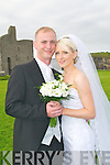 Amanda Darcy, daughter of Breda & the late Paddy Darcy, Mitchestowen, Co Cork and Steven Walsh, son of Tony & the late Alice, Ballymacoda, Youghal who were married in Mitchelstown Church on Friday last. Bes tman was Cianan Walsh 7 the grooms man was Jim Christie. Bridesmaids were Fiona Graham & Mary Saich. Flower girl was Melissa Rice 7 the pageboy was Jacob Graham. The reception was held in The Golf Hotel, Ballybunion and the couple will live in Cork.