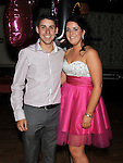 Twins Michael and Melissa Matthews celebrating their 21st birthday in the Star & crescent. Photo: Colin Bell/pressphotos.ie
