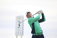John Murphy of Team Ireland on the 3rd tee during Round 3 of the WATC 2018 - Eisenhower Trophy at Carton House, Maynooth, Co. Kildare on Friday 7th September 2018.<br /> Picture:  Thos Caffrey / www.golffile.ie<br /> <br /> All photo usage must carry mandatory copyright credit (&copy; Golffile | Thos Caffrey)
