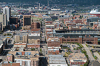 Coors Field, Blake Street, LODO Denver. Aug 20, 2014. 812846